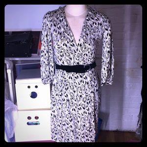 Diane Von Furstenburg Hearts Omahyra Wrap Dress